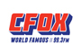 CFOX World Famous 99.3 Logo